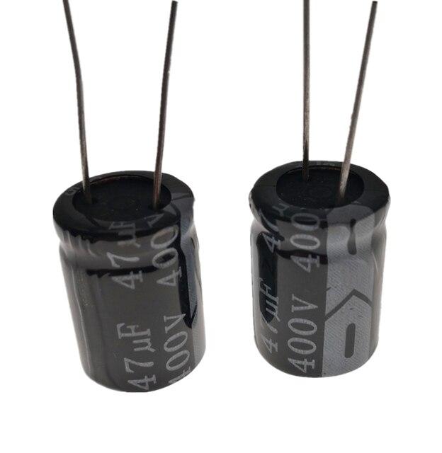 Condensador electrolítico RADIAL de aluminio, 5 ~ 100, unids/lote, 400V, 47UF, 16*25, 20%, 47000NF 20%