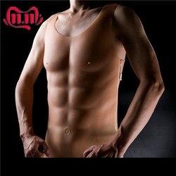جديد 1750g قطعة كبيرة الصدر العضلات رجل سيليكون وهمية الصدر العضلات الساحرة بكتوراليس كروسدرسر الاصطناعي تأثيري اللاتكس ملابس الشكل