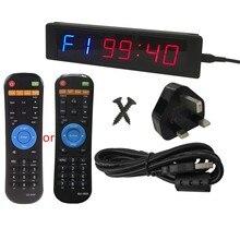 Chronomètre de gymnastique avec télécommande pour l'entraînement physique, chronomètre à intervalle idéal