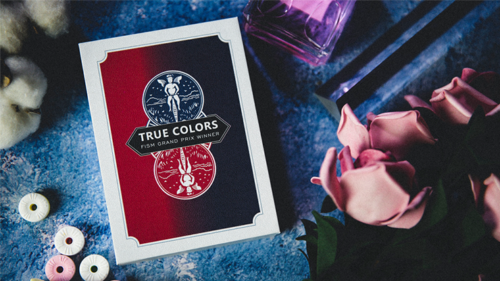 Cartes de magie des vraies couleurs dic Chien et Tcc, tours de magie (Gimmick et Instructions en ligne)
