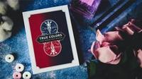 Couleurs vraies par Eric Chien & Tcc tour de magie (Gimmick et Instructions en ligne) gros plan accessoires de magie carte d'illusions magicien de magie