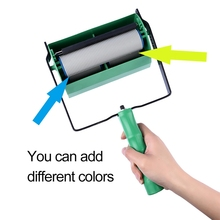 DIY Paint Roller Brush With Handle Paint Roller Wall Paint Roller Home Improvement Tools cheap Plastic