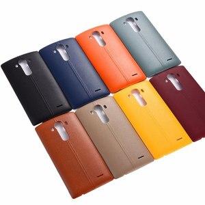 Image 2 - חדש סוללה חזרה שיכון כיסוי מקרה דלת אחורי כיסוי & NFC עבור LG G4 H815 H810 H811 LS991 US991 VS986 החלפת חלקים
