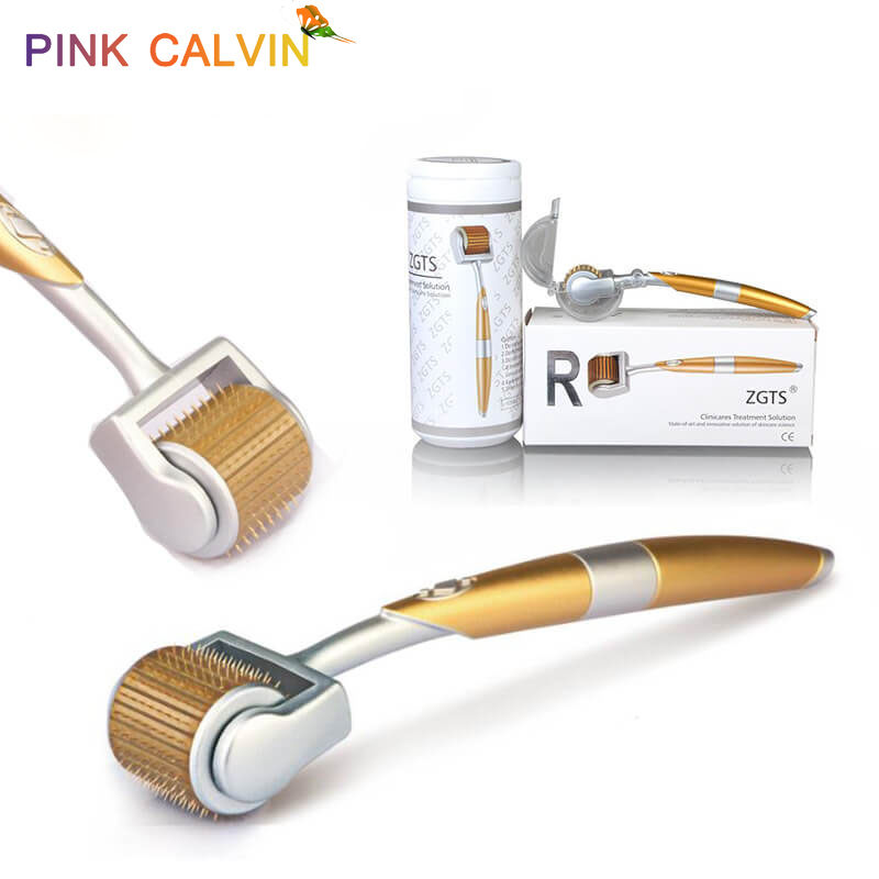 Professional Titanium  Derma Roller 192 Needles For Face Care Hair-loss Treatment CE Certificate Proved Micro Needles