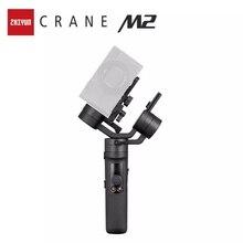 Zhiyun oficial guindaste m2 cardan de câmera para compact mirrorless ação câmeras smartphones telefone estabilizador de mão para sony
