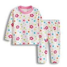 Bebe/комплект одежды для сна для новорожденных; пижамные костюмы для маленьких девочек; мягкая хлопковая одежда для сна с героями мультфильмов для младенцев; пижамы для малышей; одежда с длинными рукавами