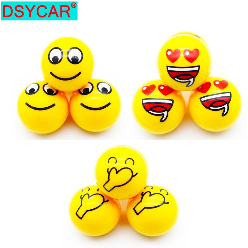 DSYCAR 4Pcs/lot Universal Car Moto Bike Tire Wheel Valve Caps Dust covers Car Styling for Fiat Audi Ford Bmw toyota VW Lada opel