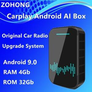 Image 1 - 4Gb Android Car Radio Carplay AI Box for Cadillac ATS L XTS XT4 XT5 CT5 CT6 ESCALADE Car Multimedia video Player GPS Navigation