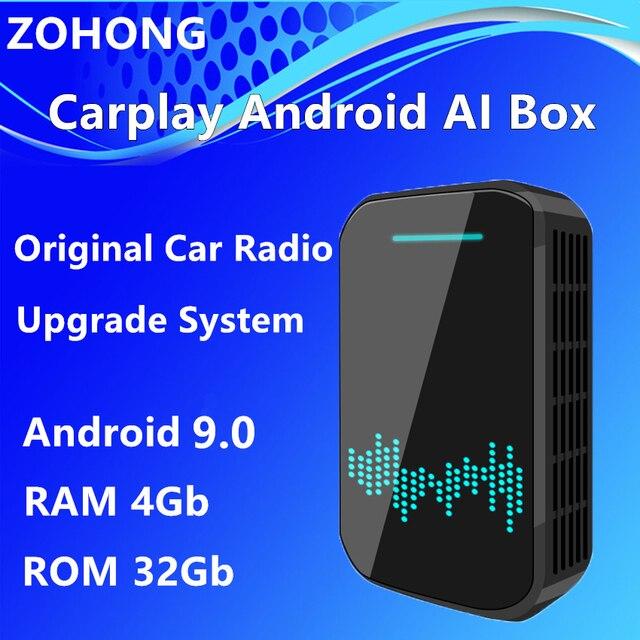 4Gb Android Car Radio Carplay AI Box for Cadillac ATS L XTS XT4 XT5 CT5 CT6 ESCALADE Car Multimedia video Player GPS Navigation