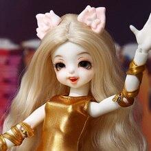 BJD Dollpamm Mochi YOSD Doll Cat Version For Children Girl DP High Quality Toys Shop Resin Figures