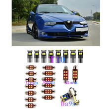 Interior luces LED de reemplazo para Alfa Romeo 159, 145, 146, 147, 155, 156, 164, 166 33 4C accesorios paquete Kit blanca