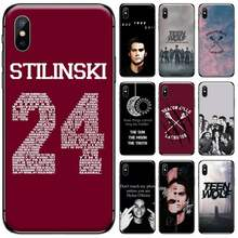 Dylan O'Brien Teen Wolf fresco teléfono caso para iphone 5 5S SE 5C 6S 6 7 8 plus X XS X XR 11 PRO MAX(China)