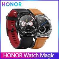 Huawei Honor Watch Magic smartwatch gps 5ATM wodoodporny pulsometr Tracker snu działa 7 dni wiadomość z przypomnieniem