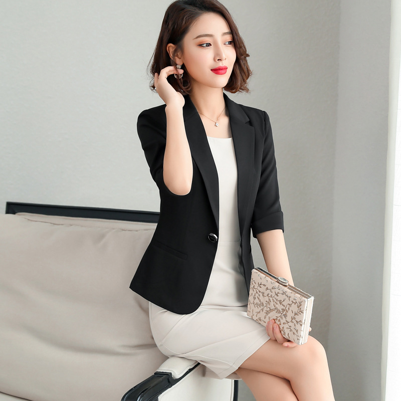 S-5XL Formal Dress Blazer Women Dresses with Jacket Women's Dress Suit Set Office Wear Work for Ladies Evening Elegant Costumes