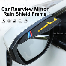 Mirror Sunny-Shield Car-Rearview-Mirror Frame Inverted Rubber Universal Soft