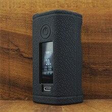 Текстурированная Кожа для ASMODUS Minikin 3S 200w Kit Box mod Vape комплект, силиконовый чехол, защитный гелевый Чехол для Minikin V3