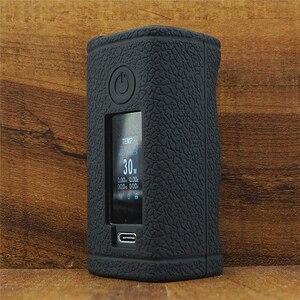 Image 3 - Texture Case for ASMODUS Minikin 3S 200w Kit Box mod Vape Kit Silicone Cover Skin Sleeve wrap Protective Gel for Minikin V3