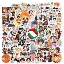 10 50 100pcs/Pack Japan Anime Cartoon Anime Haikyuu Stickers aesthetic Laptop Bicycle Guitar Skateboard Waterproof stiker