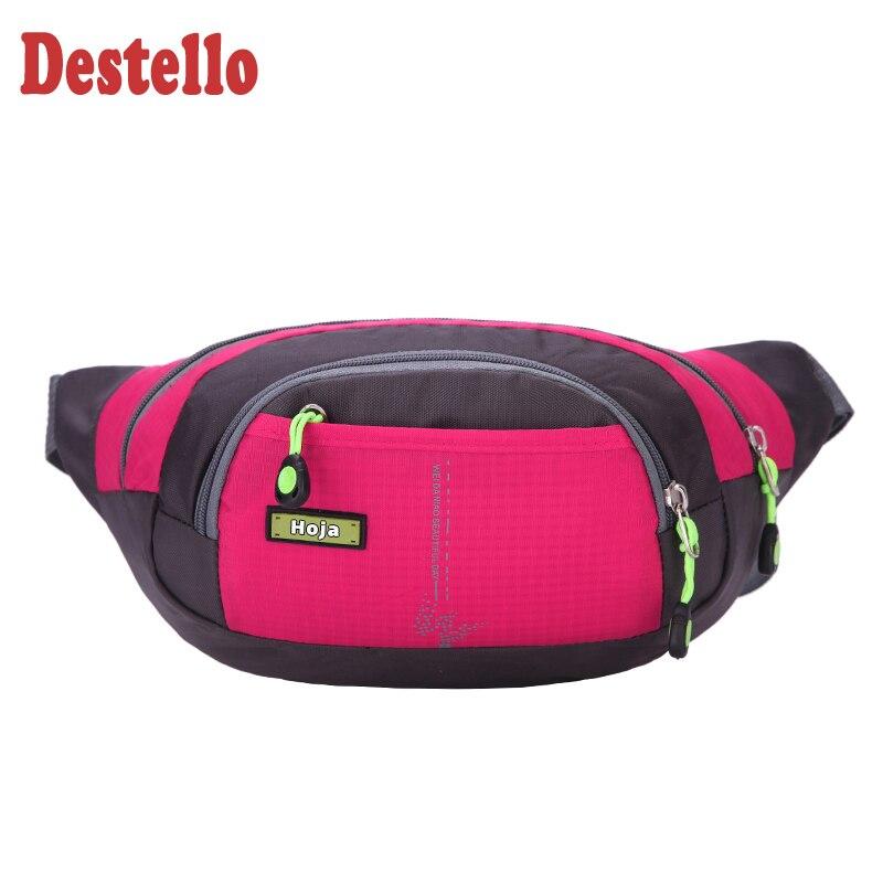 High Quality Colorful Fashion Crossbody Waist Packs Women Men Phone Money Bag Belt Pillow Fanny Bag Waterproof Sports Waist Bags