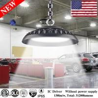 100W 200W Ultraslim 150W UFO LED High Bay Lights Waterproof IP65 Commercial Lighting Industrial Warehouse Led High Bay Lamp