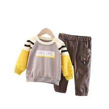 Pants Sportswear Letter T-Shirt Toddler Clothing Infant Baby-Boys-Girls Kids Cotton Children