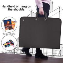 37x48 см художественный портфель, расширяющаяся папка, органайзер, чехол для переноски, сумка для рисования, рисования, эскиза, плакат для фотографии