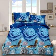 Комплект постельного белья с пододеяльником и покрывалом