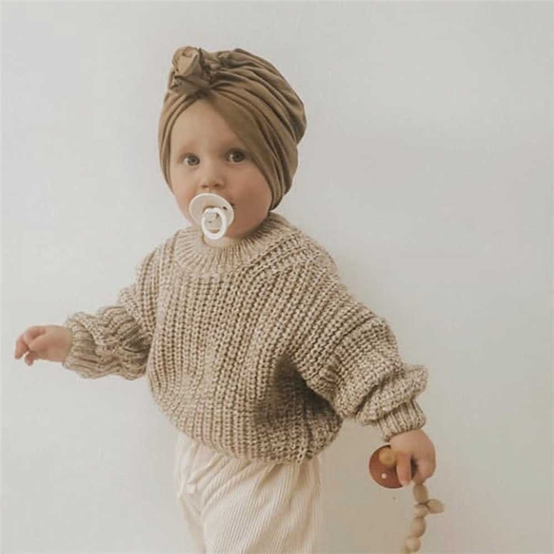Kids Sweater SS Brand New Winter Baby Girl Sweater Coat Boys Toddler Girls Candy Color Cotton Knitted Soft Cotton Tops Cardigan 3