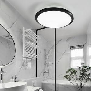 Image 5 - Zerouno lámpara de techo para dormitorio interior, lámpara de baño de 18W, 30W, 32W, iluminación LED moderna de alto brillo para cocina, lámpara para techo impermeable
