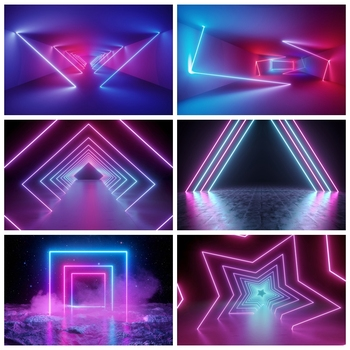 Yeele Laser Light Line Stage Party Dancing Bar Cool Photography Backdrops Photographic Backgrounds Personalized For Photo Studio