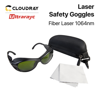 Ultrarayc 1064nm Laser Safety Goggles 850-1300nm OD4+ CE Protective Goggles Style A For Fiber Laser 635nm 808nm laser protective goggles laser safety glasses ce certified