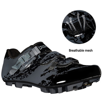 Cycling Shoes Bicycle Lock Shoes Off-road Bicycle Self-locking Shoes Hard Bottom Breathable