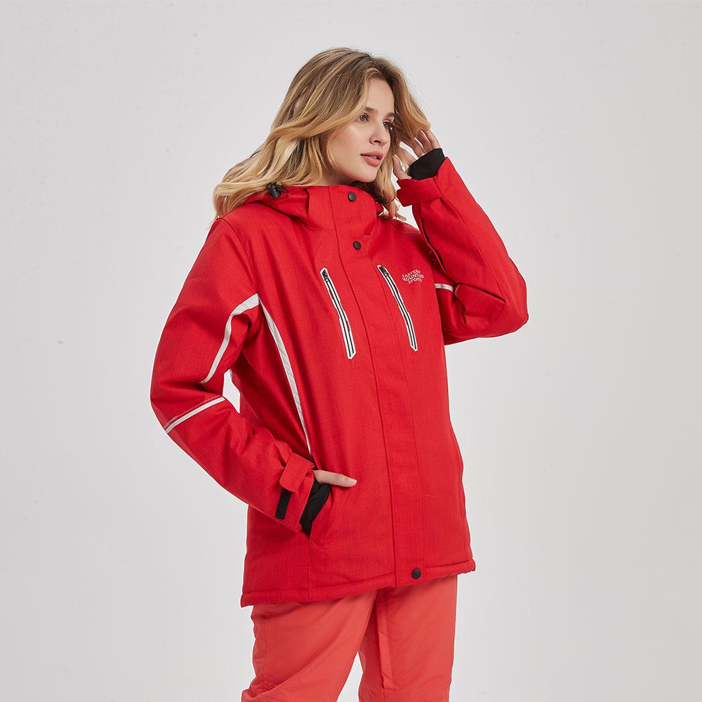 Зимняя Лыжная куртка для женщин, Брендовая женская супер теплая водонепроницаемая ветрозащитная женская зимняя куртка, Женская куртка для катания на лыжах и сноуборде