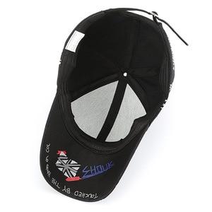 Image 4 - SLECKTON 100% Cotton Hip Hop Baseball Cap for Men and Women Casual Graffiti Snapback Hat Unisex Fashion Hats Peaked Caps Summer