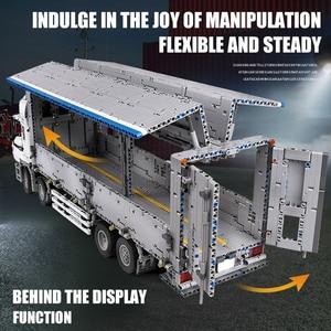 Image 2 - 23008 jouets de voiture technique compatibles avec MOC 1389 APP moteur aile corps camion blocs de construction brique voiture modèle enfants cadeau de noël