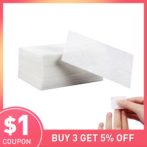 Image 1 - 900 ชิ้น/เซ็ต Lint ฟรี NAIL ผ้ากันเปื้อนเล็บ Remover Wraps เล็บเจลเล็บ Remover ผ้าเช็ดทำความสะอาดเจลเล็บเจลบำรุงผิว Remover Lint ฟรีผ้าเช็ดทำความสะอาด