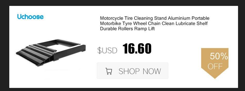 Подставка для чистки цепи шин мотоцикла алюминиевая портативная
