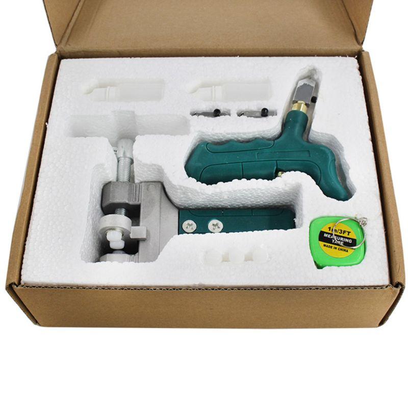 Ręczny nóż do szkła dzielnik koła otwieracz Breaker ściskacz maszyna do cięcia płytek lustro szybkie otwieranie zestawu