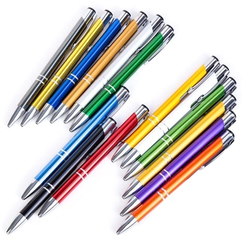 100 шт./лот, бизнес шариковые ручки, канцелярские товары, новинка, шариковые ручки, подарок, офисные материалы, школьные принадлежности