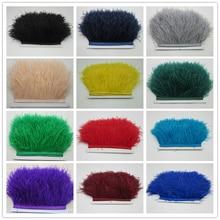 Ribbon Fluffy Trimming Fringe-Trim Apparel-Decoration Multicolored Fashion Dyed 8-10cm