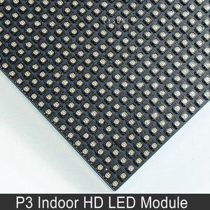 Image 3 - P3 מקורה SMD מלא צבע LED מודול עבור HD וידאו תצוגת מסך 64*32 פיקסלים