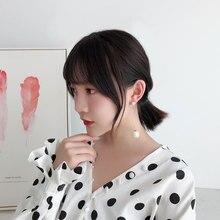 New Korean Design Pearl Earrings for Women Long Tassel Earring Statement Jewelry Ladies Gifts