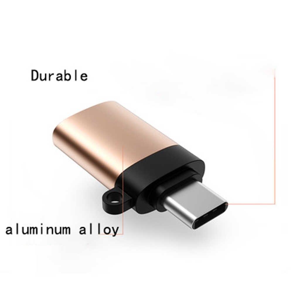 USB C محول نوع C إلى USB 3.0 محول Type-C محول OTG كابل ل ماك بوك برو الهواء سامسونج S10 S9 S8 هواوي P30 USBC OTG كابل