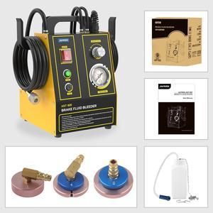 Image 5 - AUTOOL مبدل تعبئة زيت فرامل السيارة ، آلة استخراج ، مضخة نقل نبضية كهربائية ، لتنظيف خط الأنابيب ، 220 فولت ، 110 فولت ، AST605