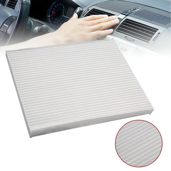 Cars Cabin Air Filter White Air Conditioner Accessory For KIA Forte 2014-2015 image