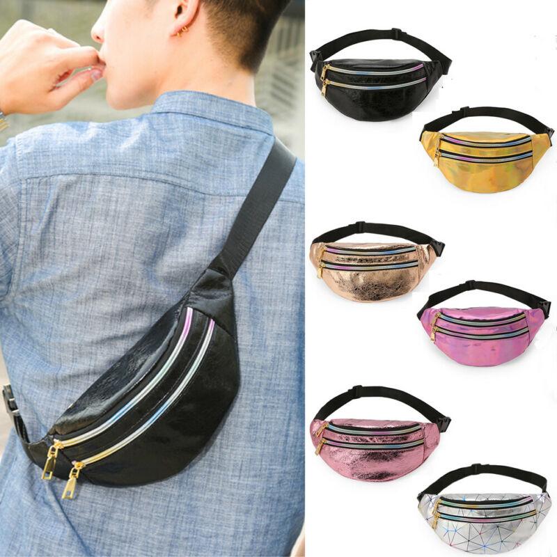 Fashion Womens PU Leather Mini Belt Bag Waist Fanny Pack Key Phone Purse Wallet Travel Hip Bum Bag Casual Handbag