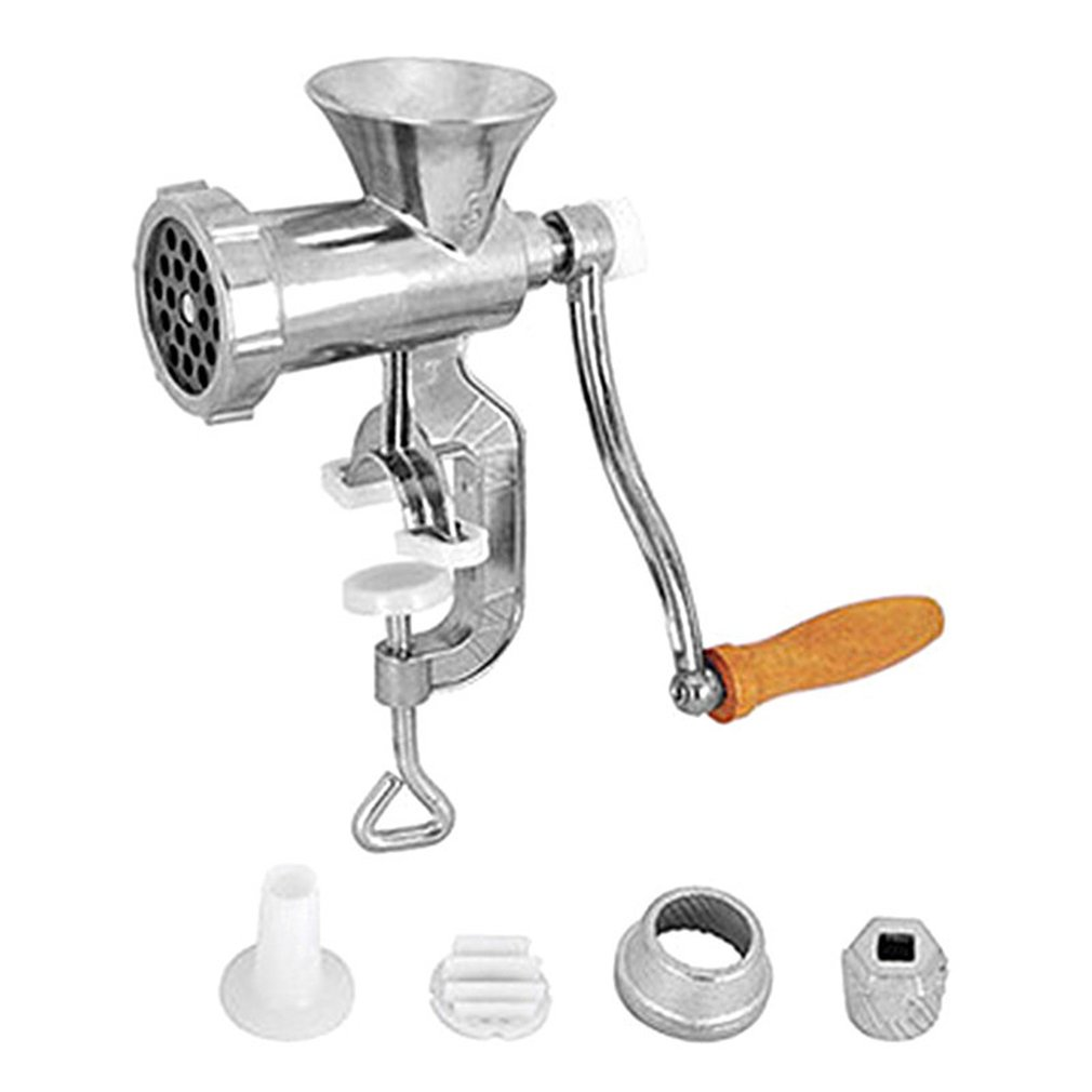Hachoir à viande manuel et saucisses nouilles plats à main faisant des Gadgets hachoir fabricant de pâtes manivelle maison cuisine outils de cuisine