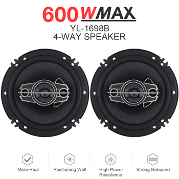 6 Inch 600W Full Range Frequency Hifi Speaker 2pcs  1