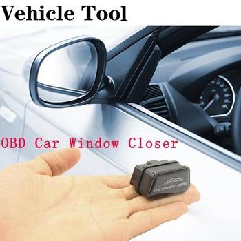 Samochodowe zamknięcie do okna OBD systemy alarmowe OBD2 Auto Windows zamknij szybę pojazdu bliżej drzwi Skylight tanie i dobre opinie CN (pochodzenie) OBD module Car Window Closer Inne Other(Other) 0 08kg OBD window closed black obd scanner