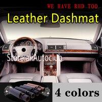메르세데스 벤츠 S 클래스 W140 300SEL 350SDL 400 500 600 280 320L 420L 가죽 Dashmat 대시 보드 커버 대시 매트 Sunshade Carpet 자동차 더러움 방지 페드    -
